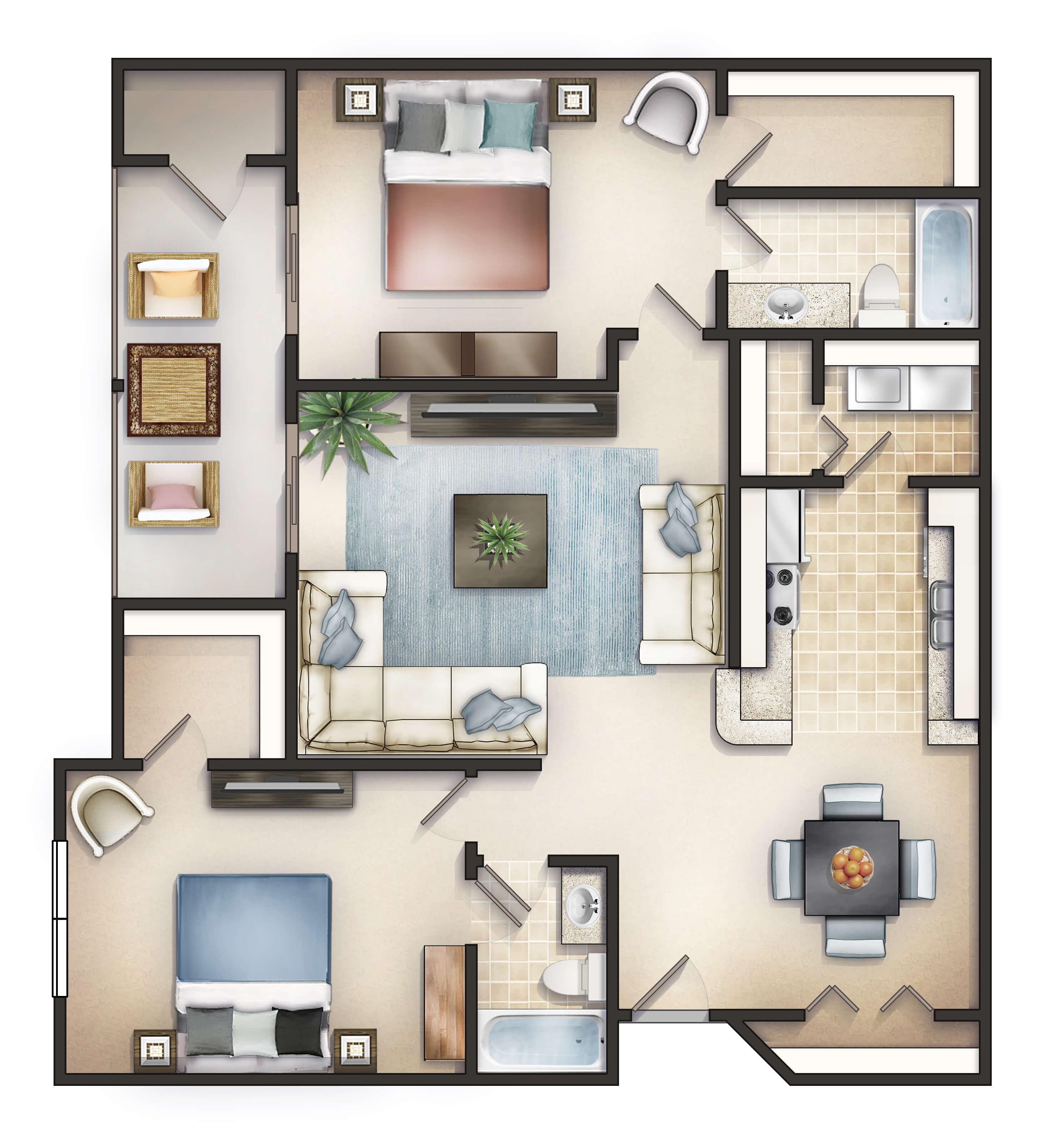 Greenbrier Apartments 100 Willow Oak Drive, Columbia SC 29223